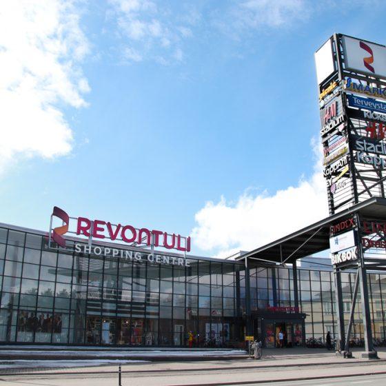Shopping Centre Revontuli, Rovaniemi, Lapland, Finland