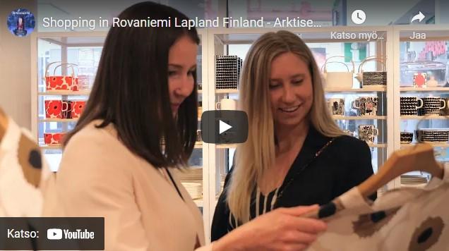 Shopping in Rovaniemi Video Youtube
