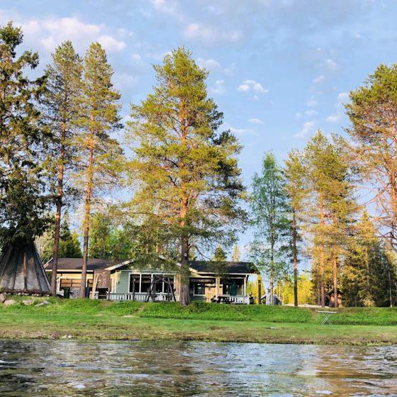 Simojoen Lohiranta, Lapland, Finland