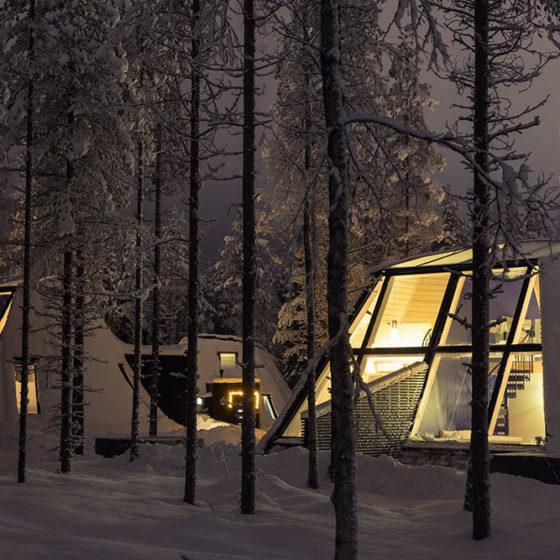 Snowman World Glass Resort, Rovaniemi in Santa Claus Village, Rovaniemi, Lapland, Finland