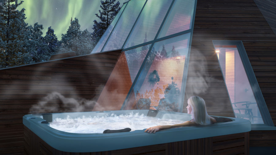 snowman world glass resort in santa claus village visit rovaniemi. Black Bedroom Furniture Sets. Home Design Ideas