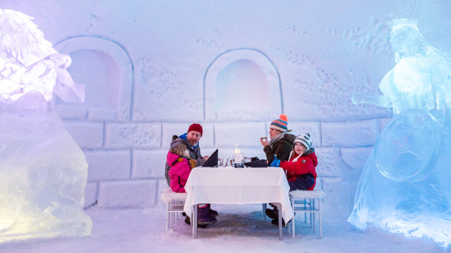 Ice Restaurant Dinner is unforgettable experience and perfect for entire family!