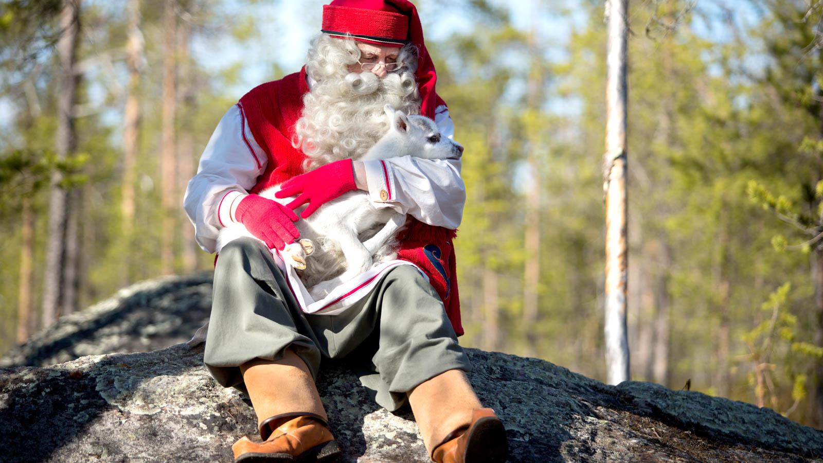 Santa Claus summer Rovaniemi Lapland Finland