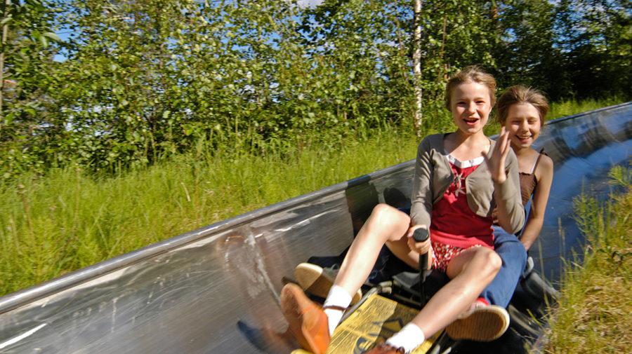 Summer-bobsleigh-at-Ounasvaara-by-Santas