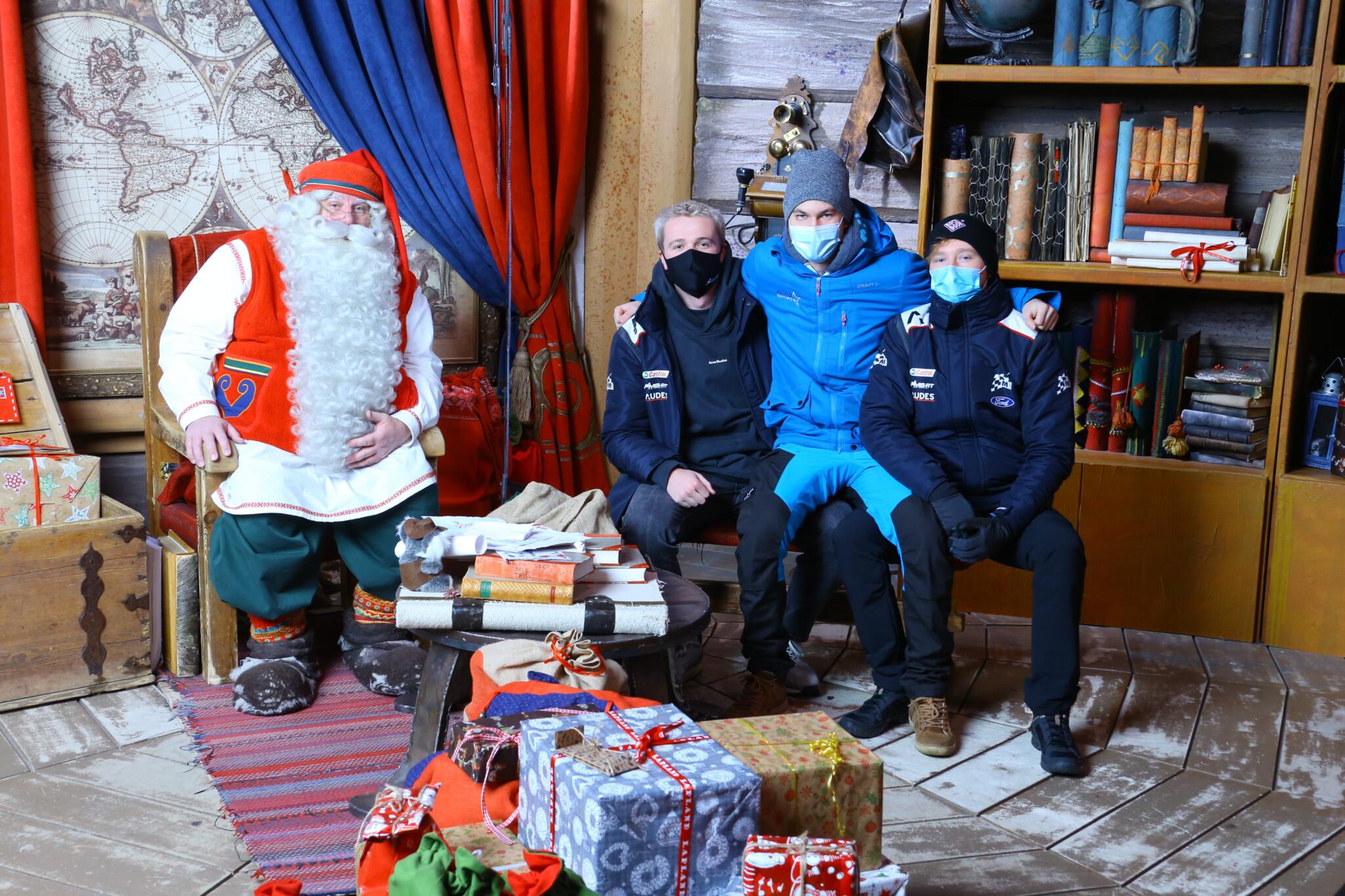 Team Ford ja Joulupukki
