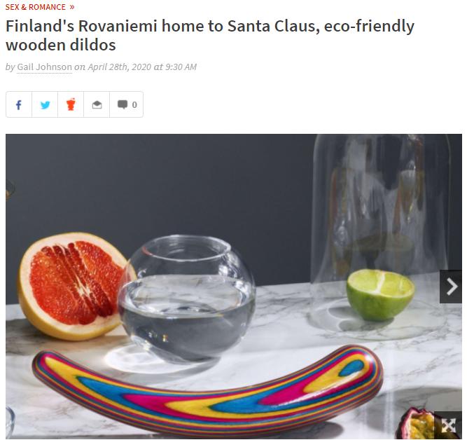 Teatiamo article in the Georgia Straight Rovaniemi Lapland Finland