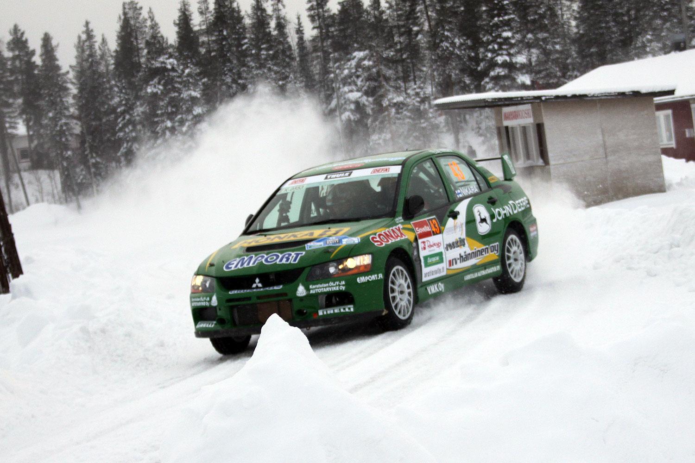 Tomi Tuominen Arctic Lapland Rally
