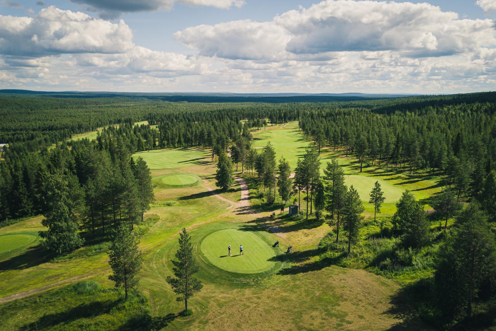 Santa Claus Golf Ylitä napapiiri golfaten Visit Rovaniemi