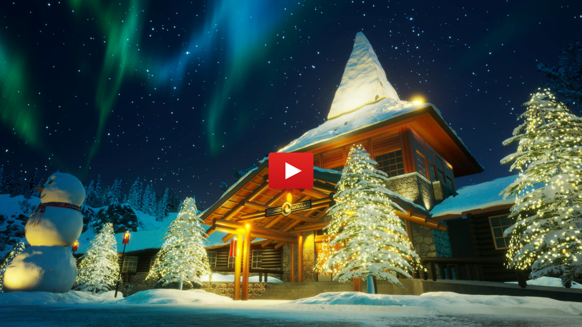 Virtual Magic of Christmas Visit Rovaniemi press play to start the virtual tour