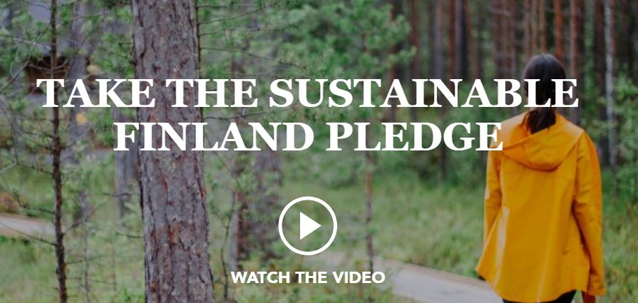 Visit Finland Finnish pledge