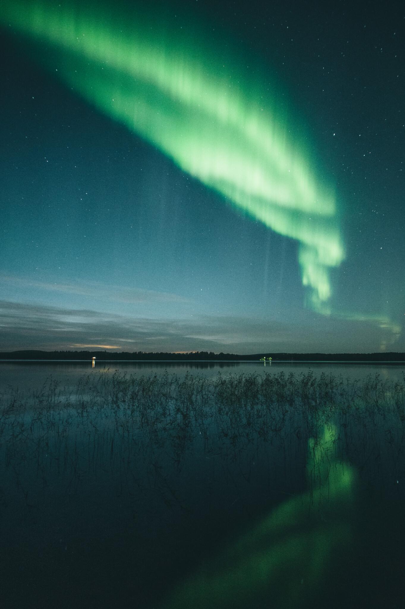 Visit Rovaniemi Northern Lights Toni Eskelinen