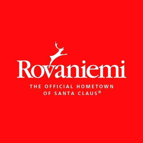 Visit Rovaniemi logo Rovaniemi Lapland Finland