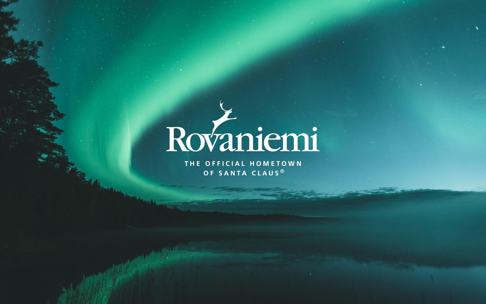 Visit Rovaniemi revontulet