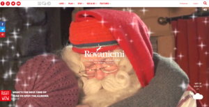 Visitrovaniemi fi finnish web awards