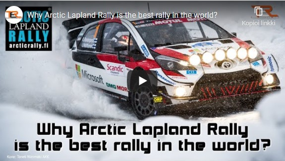 Why Arctic Lapland Rally is the best in the world