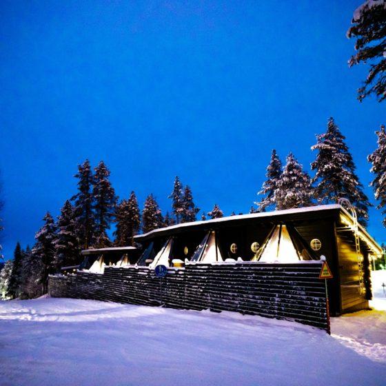 Winter, Pyha Igloos in Pyhatunturi, Lapland, Finland