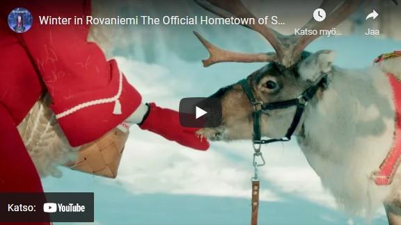 Winter in Rovaniemi by Santatelevision