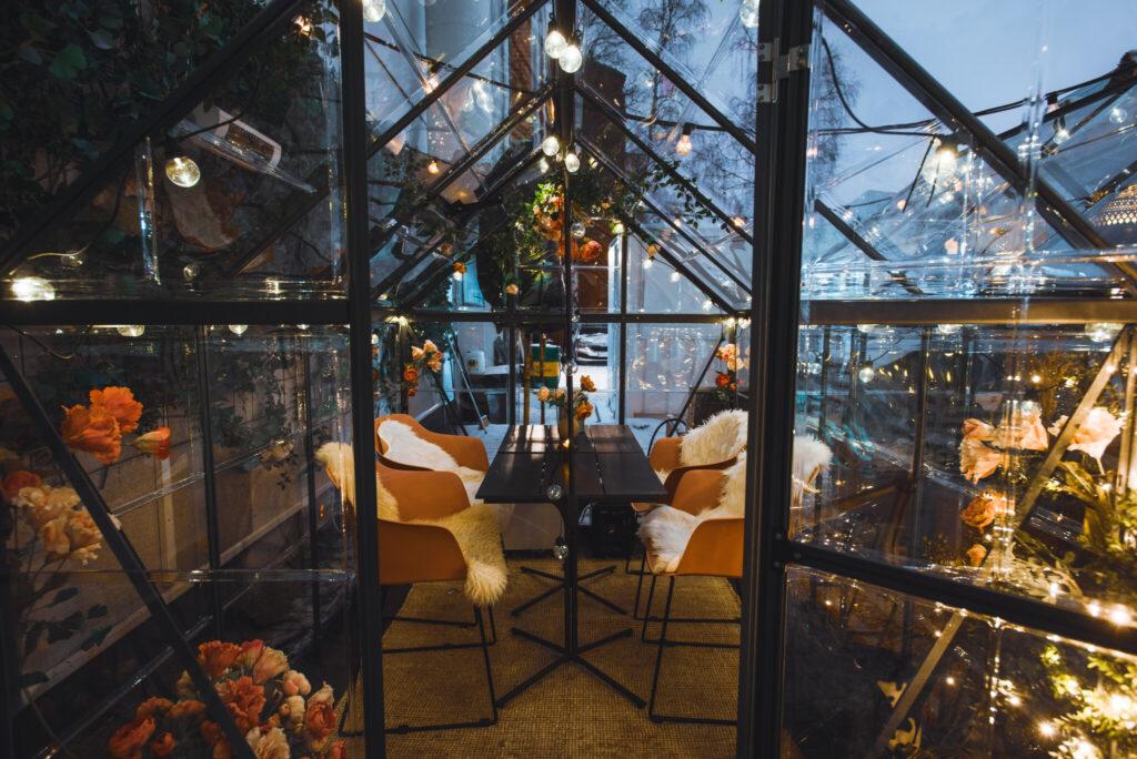 Wintergardenyuca21restaurantRovaniemiLapland