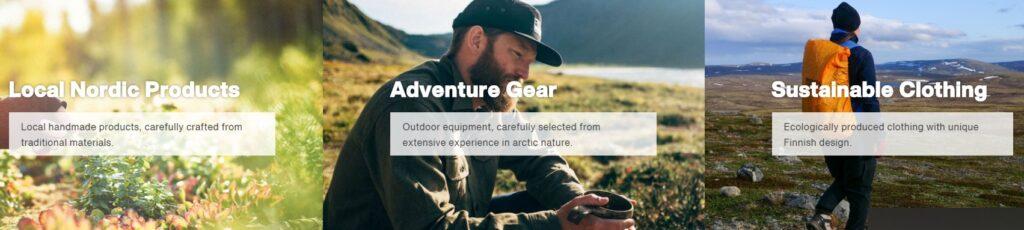 Xwander Online shop Visit Rovaniemi