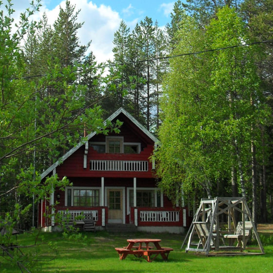 Ahosen Lomamökit cabin in Rovaniemi, Lapland, Finland