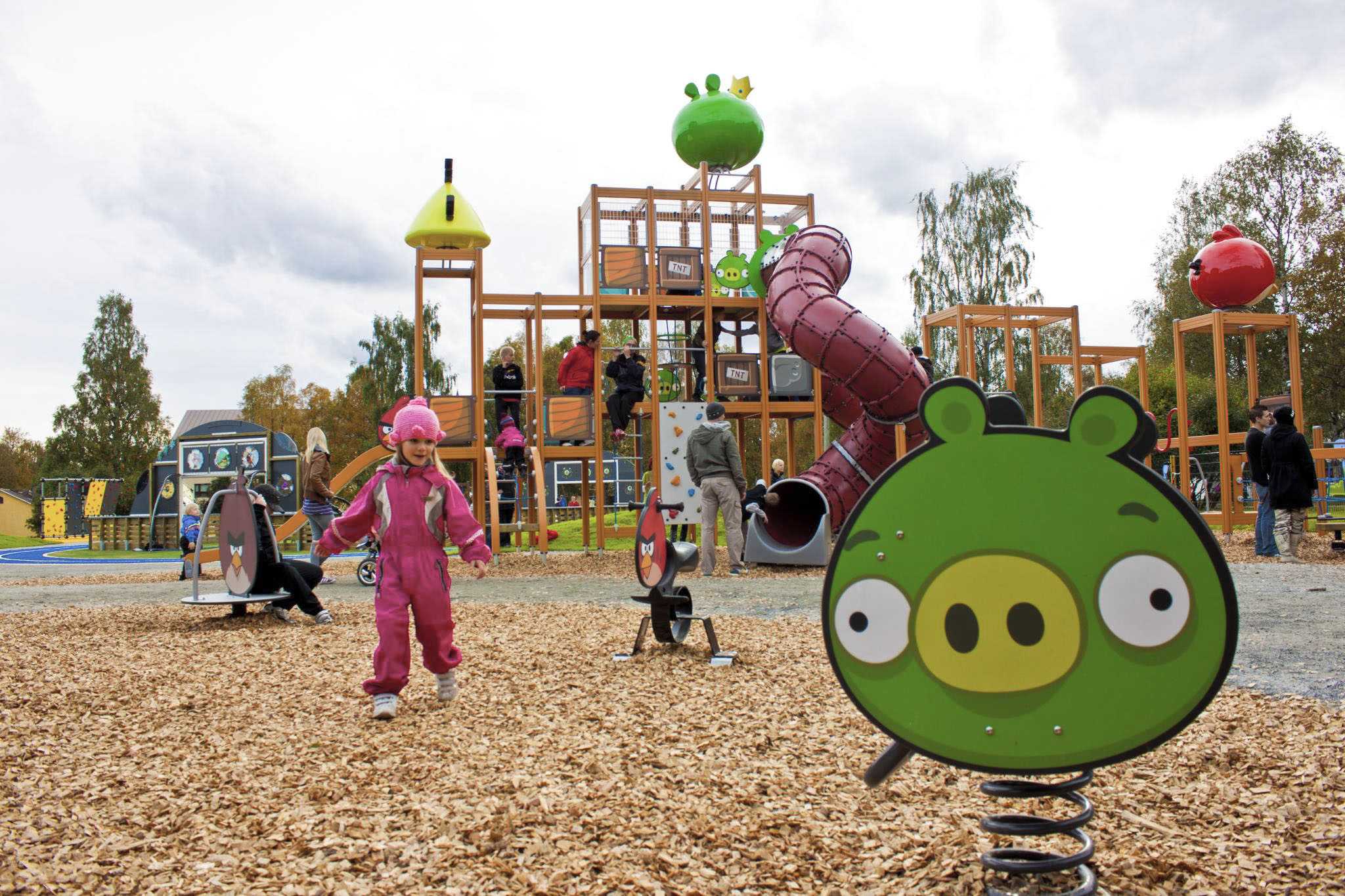Angry Birds Activity Park Rovaniemi Lapland Finland