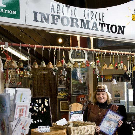 Arctic Circle Information in Santa Claus Village, Rovaniemi
