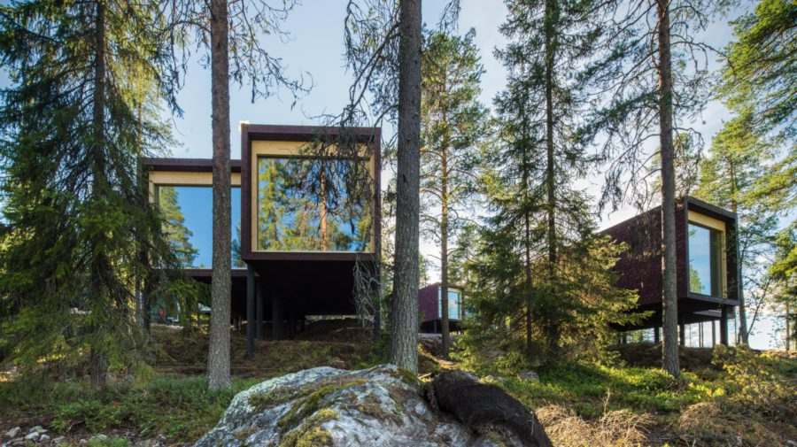 Arctic treehouse hotel visit rovaniemi for Arctic house design