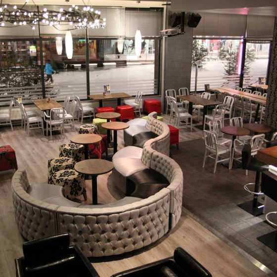 Cafe & Bar Zoomit in Rovaniemi, Lapland, Finland