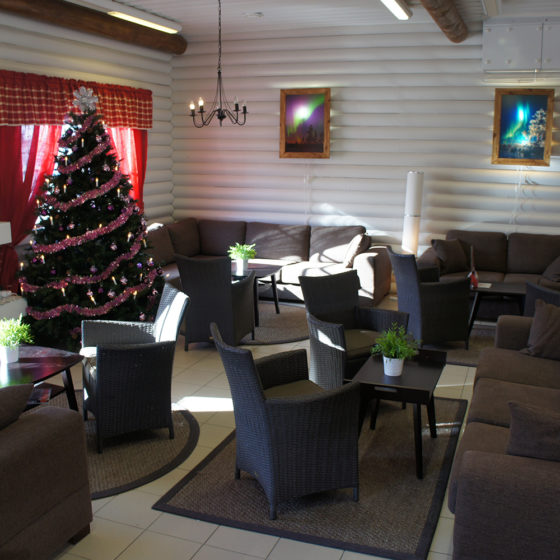 Christmas House Restaurant & Coffee Bar in Santa Claus Holiday Village