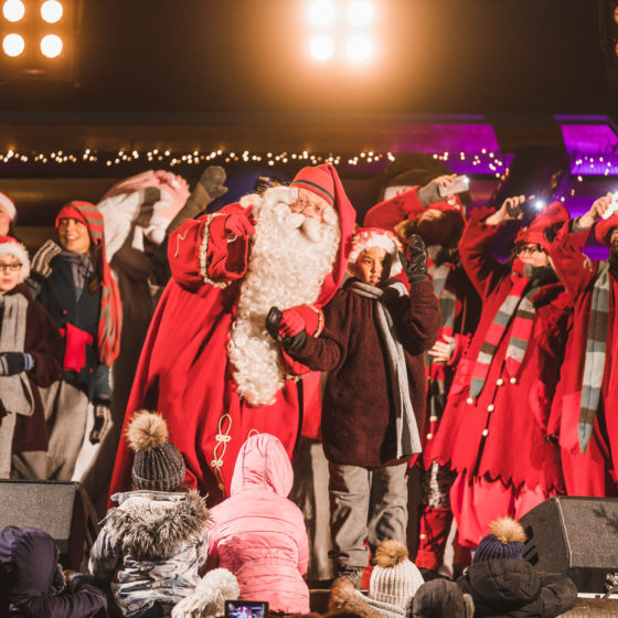 Grand Opening of Christmas Season Rovaniemi