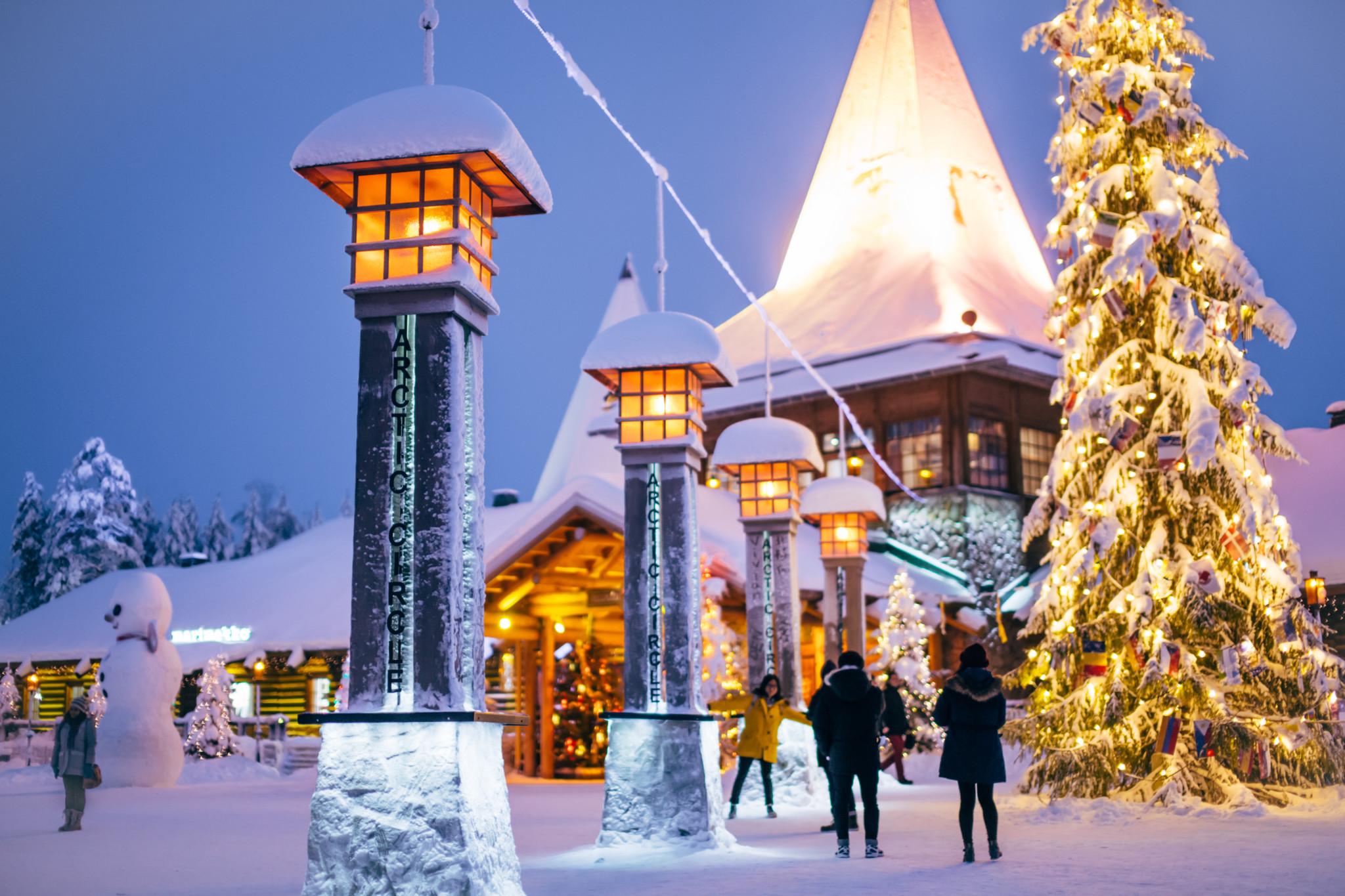 Joulupunkin Pajakylä Visit Rovaniemi Lapland Finland