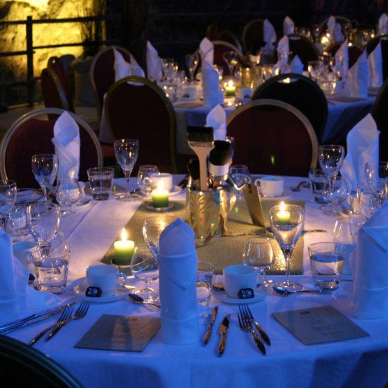 Dinner in SantaPark with Rovaniemi Congresses