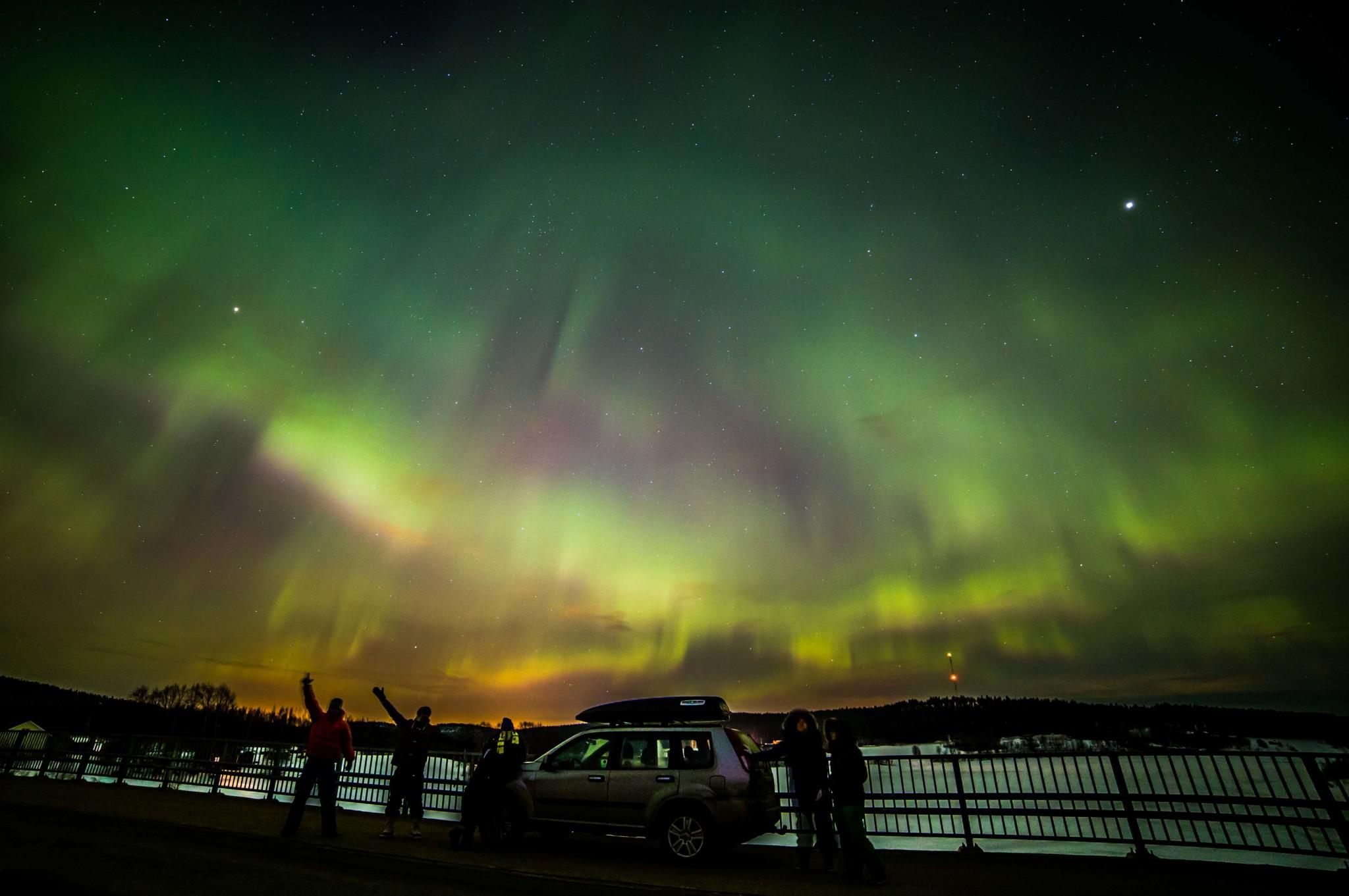 Northern Lights tour in Rovaniemi, Lapland, Finland