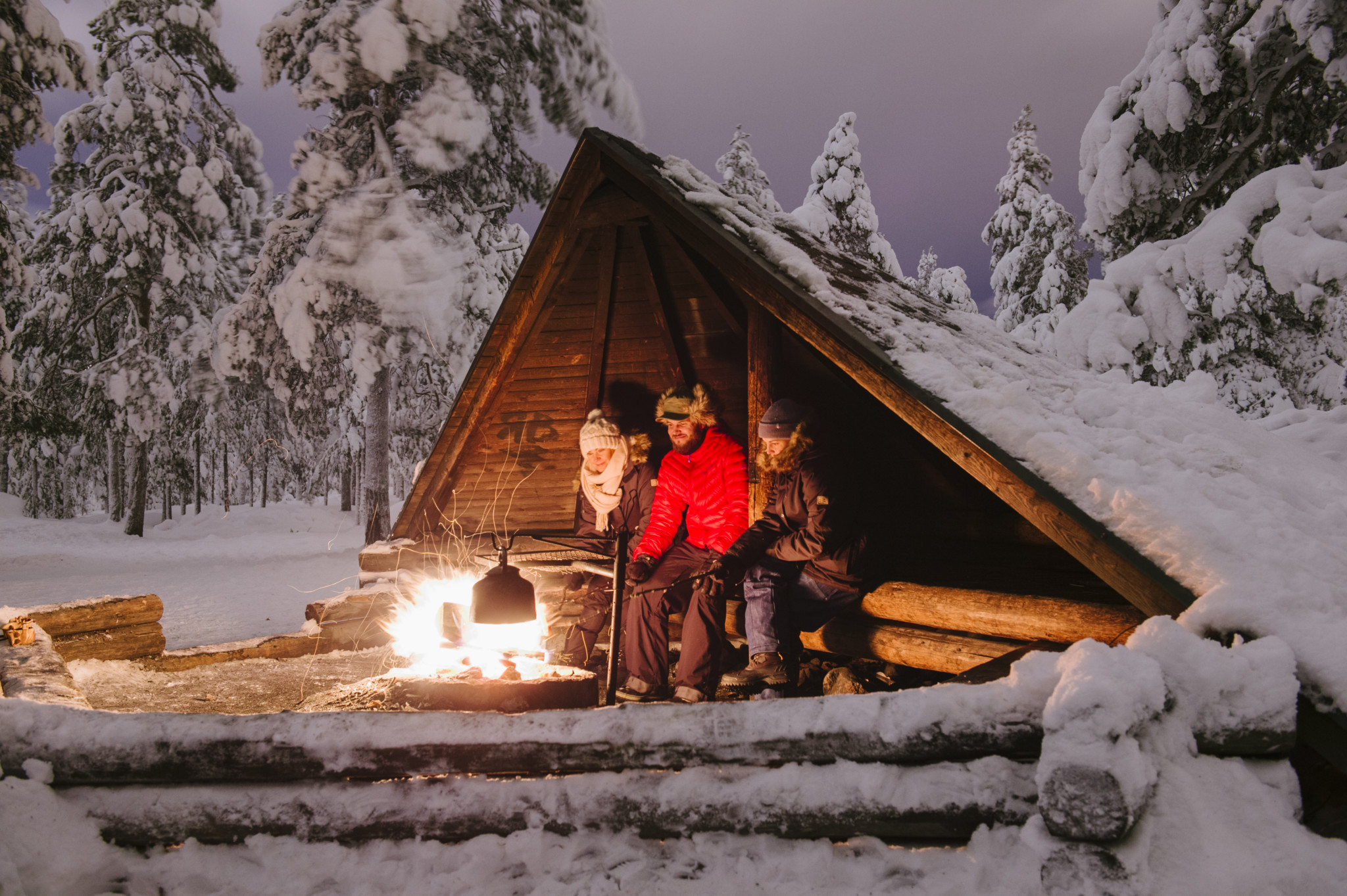 A lean-to, Rovaniemi, Visit Rovaniemi