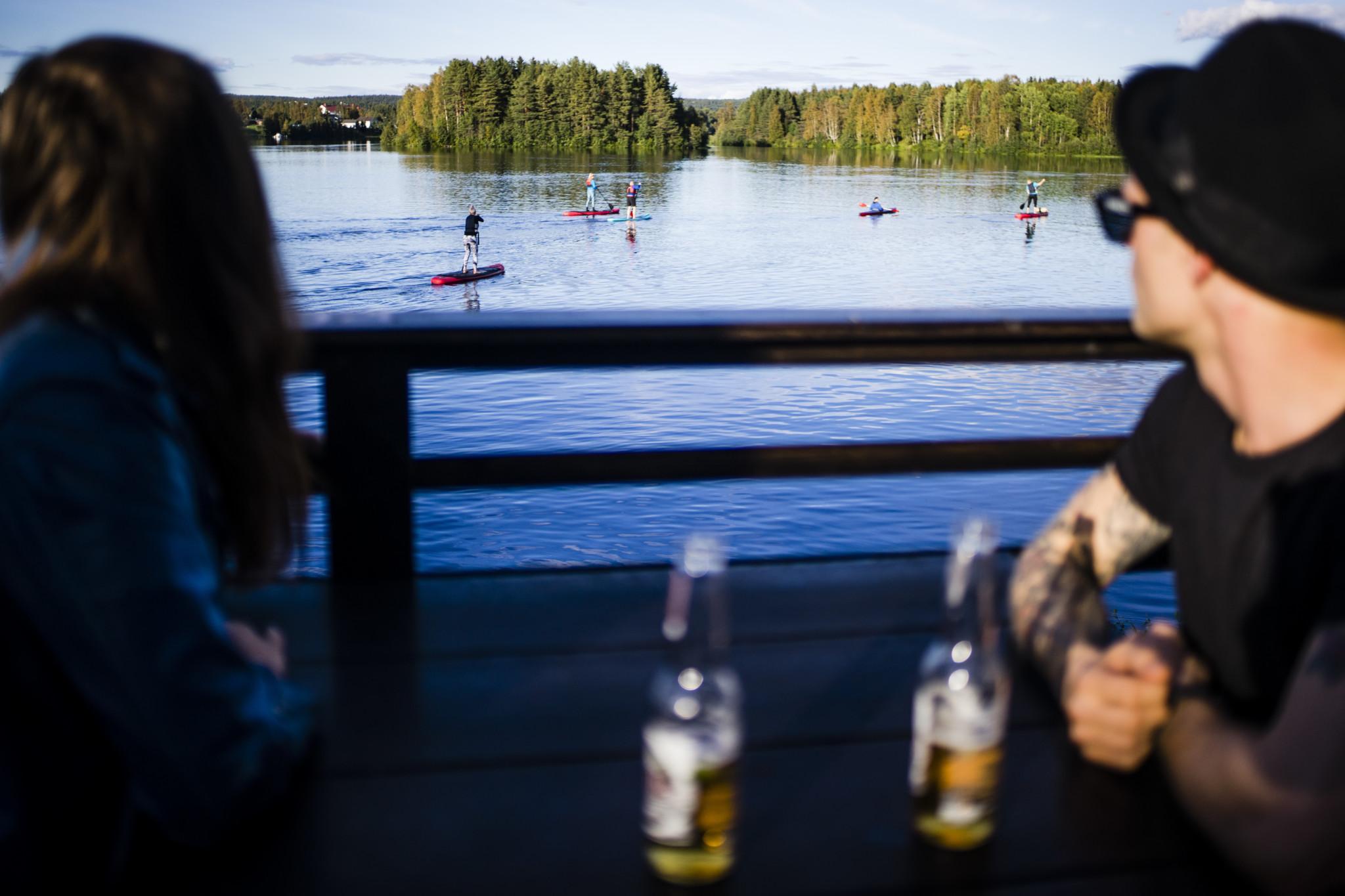 Kesärafla Sauna in Rovaniemi Lapland Finland