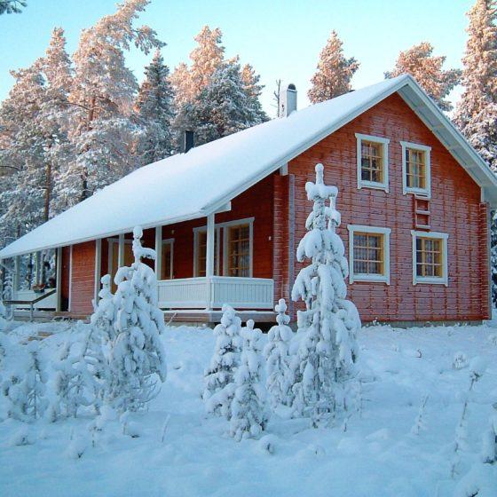 Chalet Riekko at Ounasvaara, Rovaniemi
