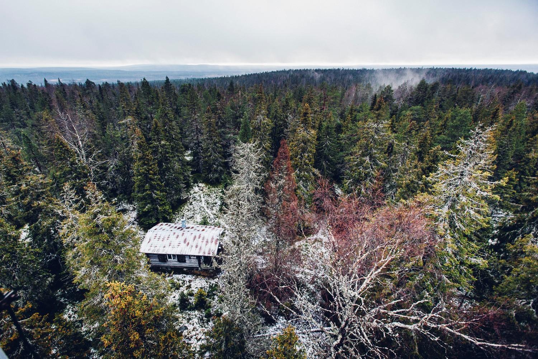 Louevaara, Rovaniemi, a cabin