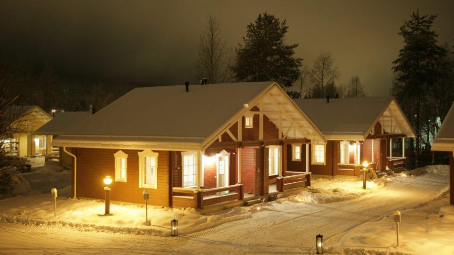 Lapland Hotels Ounasvaara Chalets In Rovaniemi Lapland