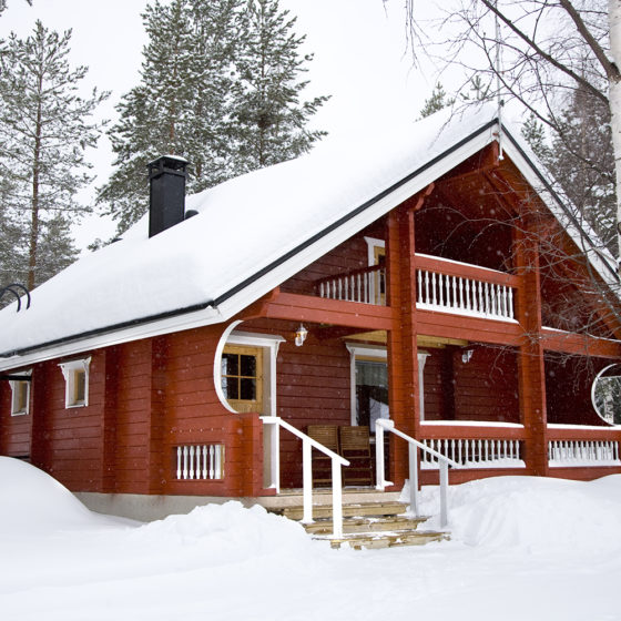 Loma-Vietonen Holiday Village in Lapland, Finland