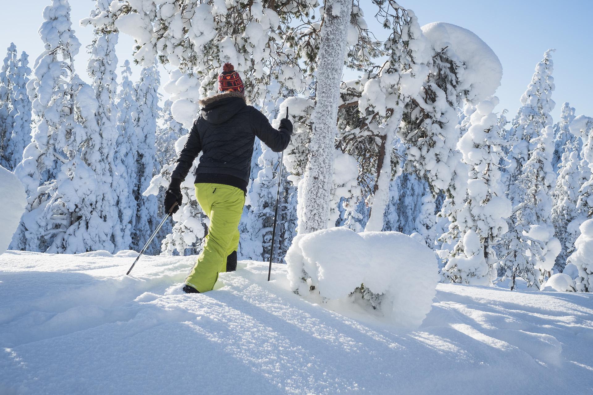 lumikenkäily, santasport