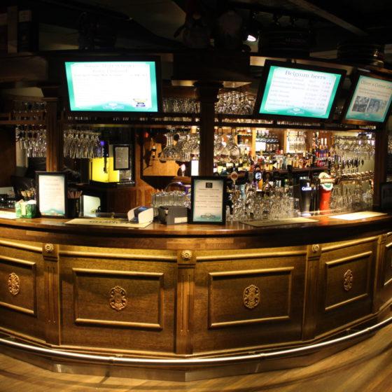 Irish Pub Oliver's Corner & Night Club in Rovaniemi, Lapland, Finland
