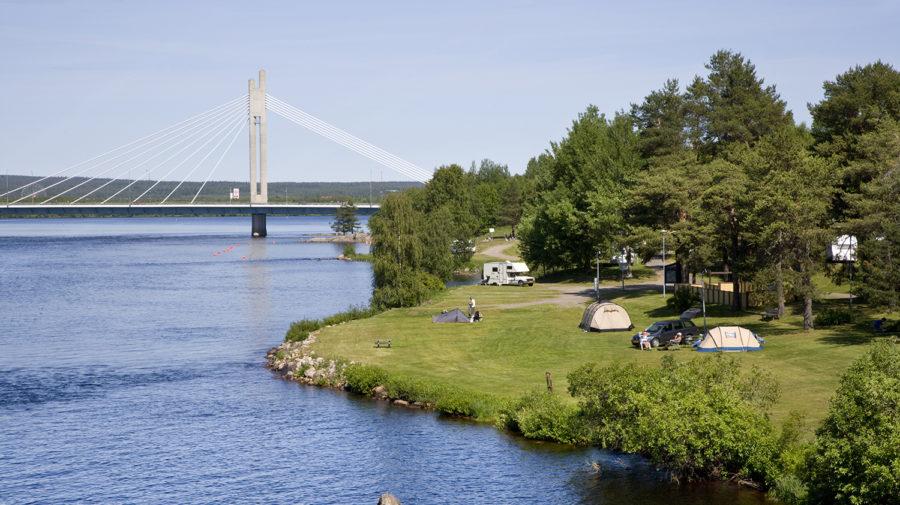 Ounaskoski Camping In Rovaniemi Lapland Finland