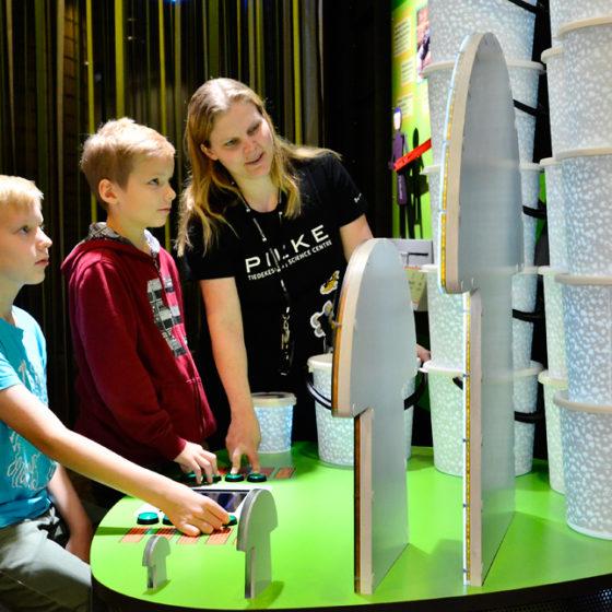 science centre pilke in rovaniemi lapland finland