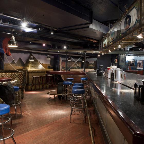 Night Club and Karaoke Bar in Pohjanhovi in Rovaniemi, Lapland, Finland