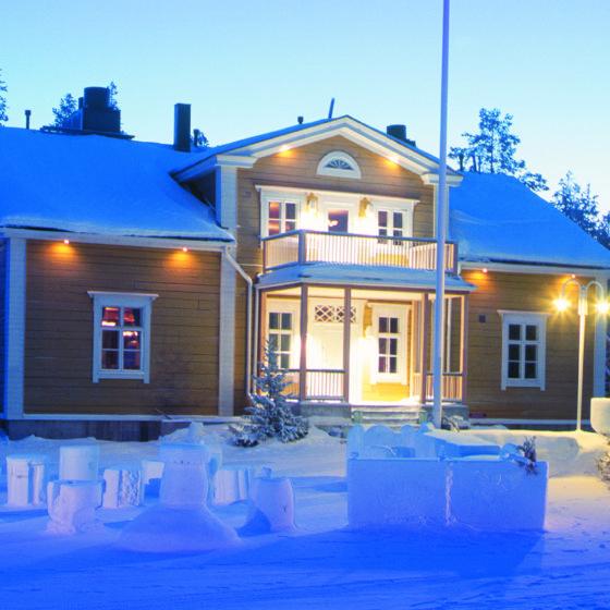 Restaurant Forest Manor in Rovaniemi, Lapland, Finland
