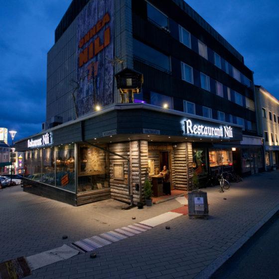 Restaurant Nili in Rovaniemi, Lapland, Finland