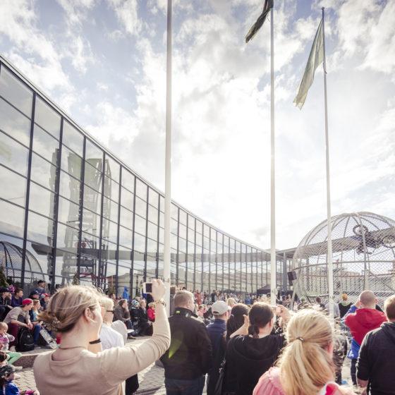 Shopping Centre Revontuli in Rovaniemi