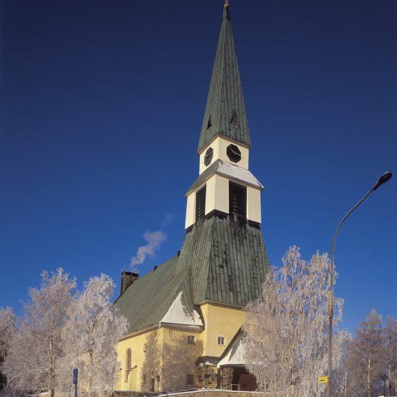 Rovaniemi Church, Rovaniemi, Lapland, Finland