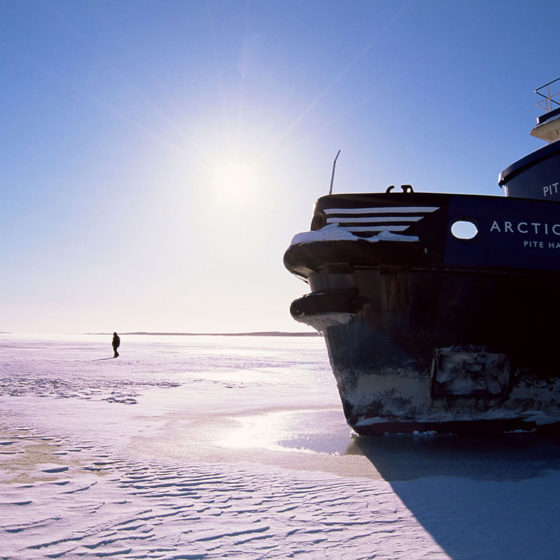 Polar Explorer icebreaker cruises in the Gulf of Bothnia from Rovaniemi, Lapland, Finland