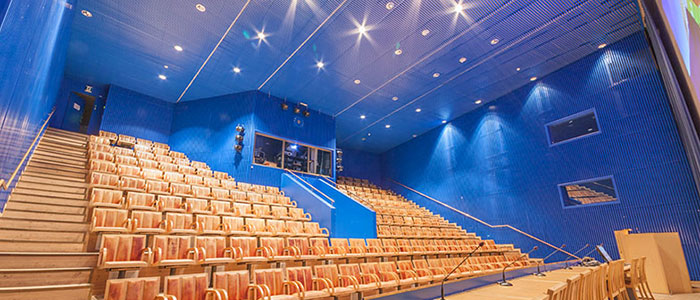 The Polarium auditorium in Arktikum museum and science centre in Rovaniemi, Lapland, Finland